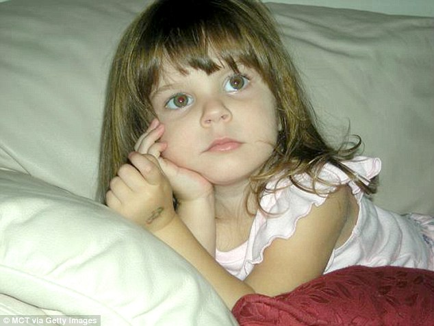 Tragic: Caylee was reported missing one month after Anthony last claimed to have seen her in 2008