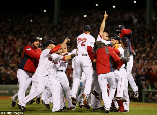 Last fall's World Series averaged 14.9 million viewers, with 19.2 million watching the Boston Red Sox beat the St. Louis Cardinals in the last game