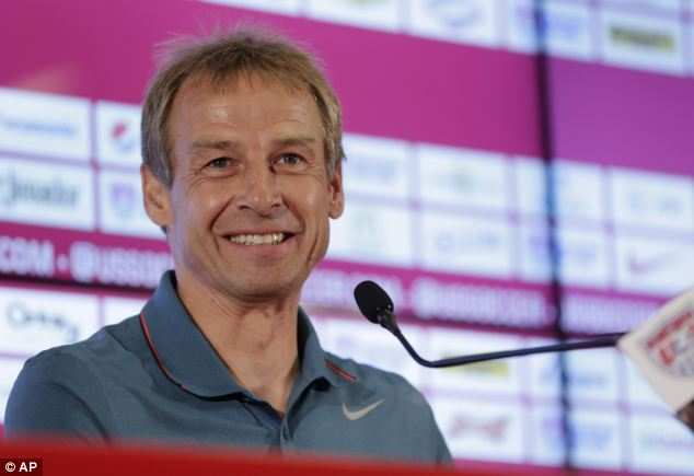 USMNT coach Jurgen Klinsmann said everyone connected with the soccer team is excited to see how the sport is reaching a U.S. audience
