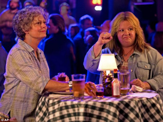 Tammy is the latest film for Bridesmaids' breakout star Melissa McCarthy (right)