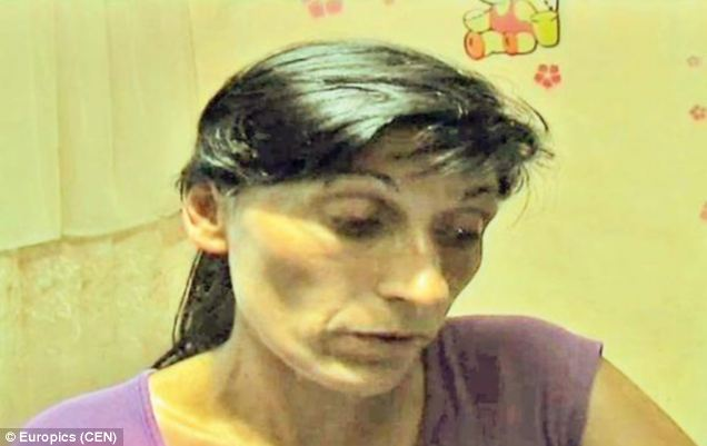 Gina Mihai, 34, has received a selfie from her dead grandmother who is being punished in the spirit world because she has not given food to the poor for three years