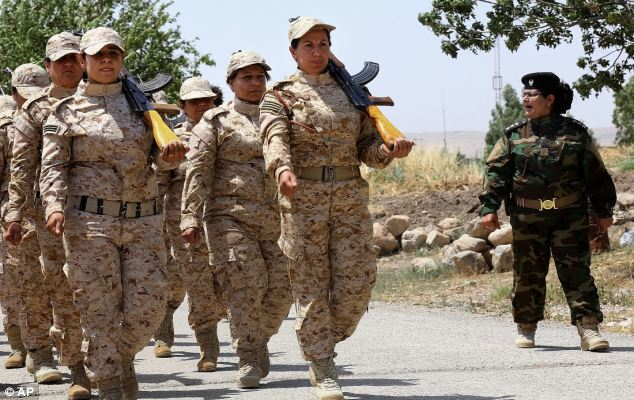 The unit is led by commander Nahida Ahmid Rashid, who started the unit to help fight former president Saddam Hussein