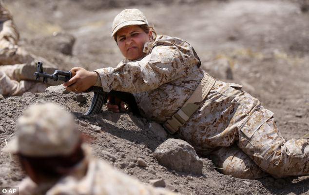 The elite unit is undergoing training in the Kurdish region of Sulaimaniyah, in northern Iraq