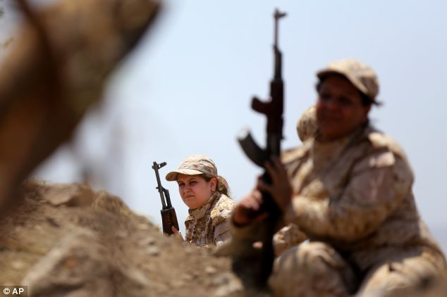 The unit is said to be training to fight against Islamic militants and protect its land