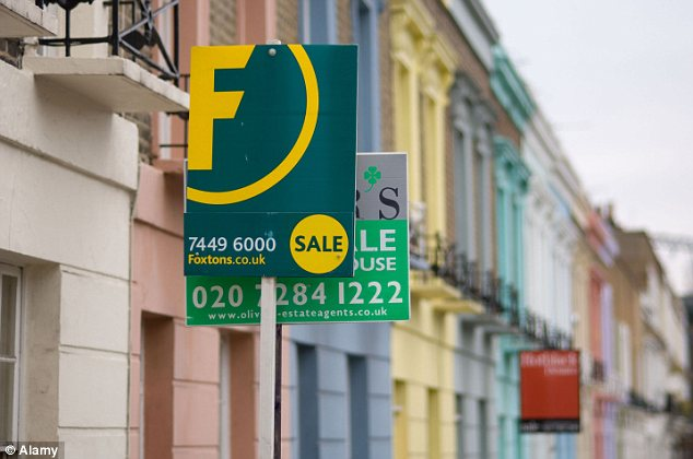 Housing boom: In London prices have risen an astonishing 26 per cent over the past year