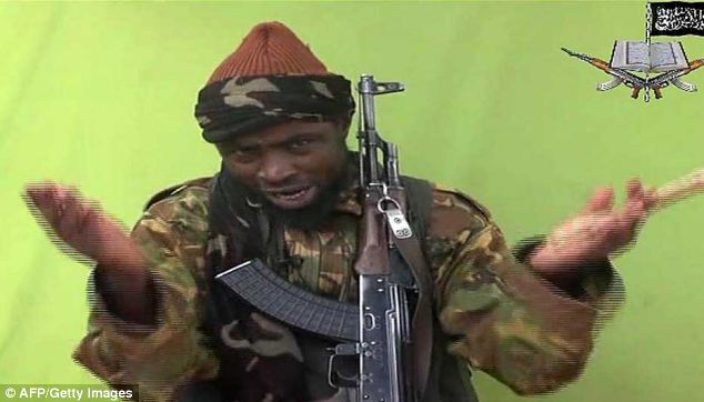 Leader: Founded in Nigeria in 2002, Boko Haram is run under the leadership of Abubakar Shekau (pictured)