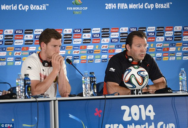 Top start: Belgium coach Marc Wilmots has led his side to four wins from four so far
