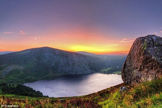 Emerald Isle: The Wicklow Mountains in Ireland made it into the top five thanks to PS I Love You