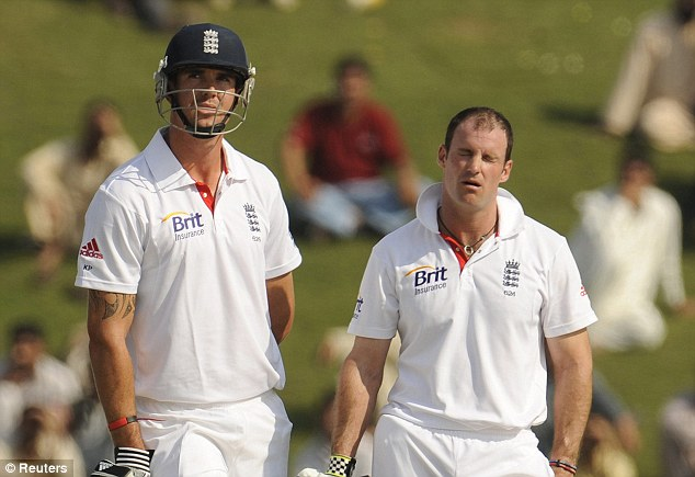 Troubled past: Pietersen was dropped after admitting making provocative comments about Strauss