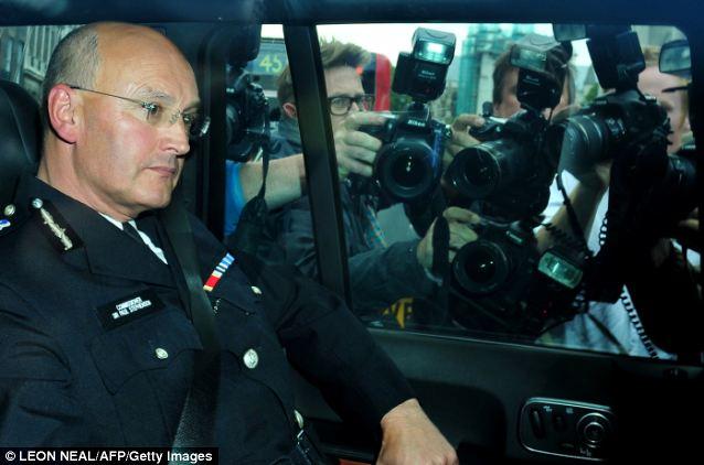 Metropolitan Police Commissioner Sir Paul Stephenson succeeded Sir Ian Blair