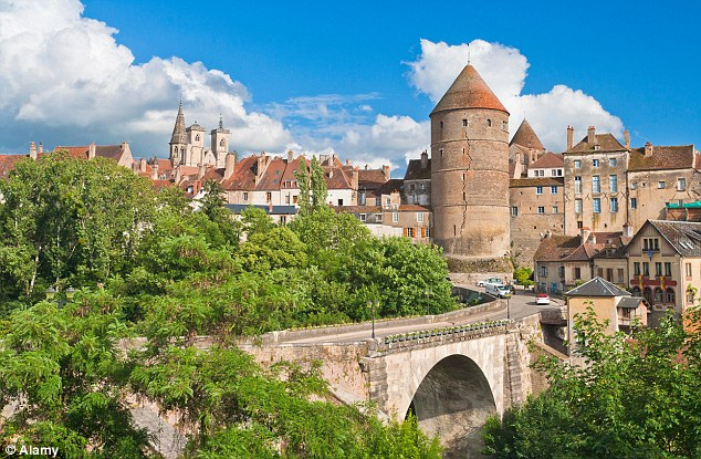 Sweet escape: Soak up the history of the Burgundy countryside by following in the footsteps of the film Chocolat
