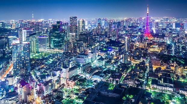 Illuminating: Bustling Tokyo didn't seem like a romantic destination... until Lost in Translation hit our screens