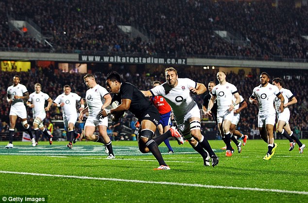 Tough tour: Without the loose-head prop England went down 3-0 to the All Blacks in New Zealand