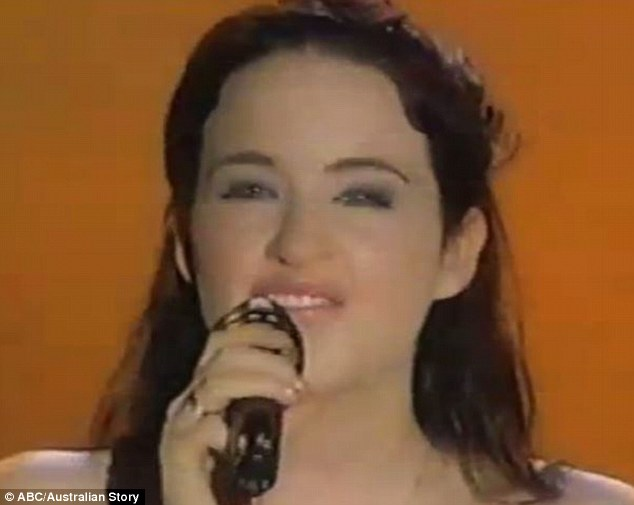Vocalist: The ARIA award winner was also bullied in school for her stutter