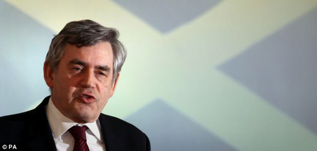 A study by Gordon Brown has revealed that retired Scots receive a better share of pensions and benefits than the rest of the UK