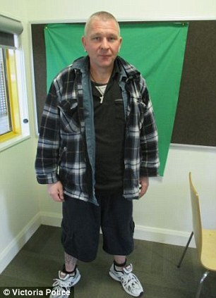 Andrew Darling escaped from Corella Place facility in Ararat, Victoria shortly after 2.30am