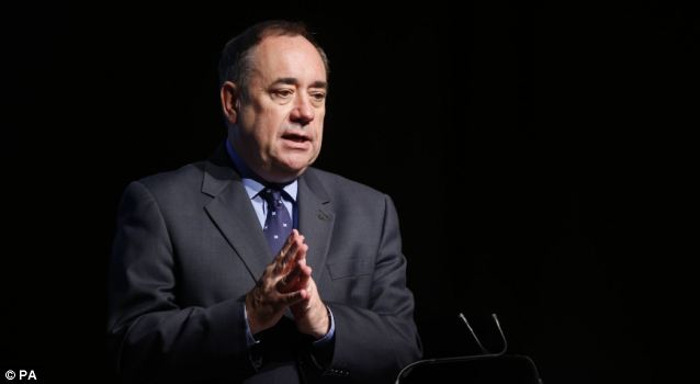 Alex Salmond wants Scots to retire at 66 because they have a lower life expectancy than those in the rest of the UK