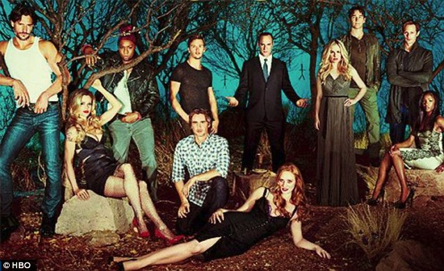 Time to say goodbye: One popular True Blood character met his demise on Sunday's episode
