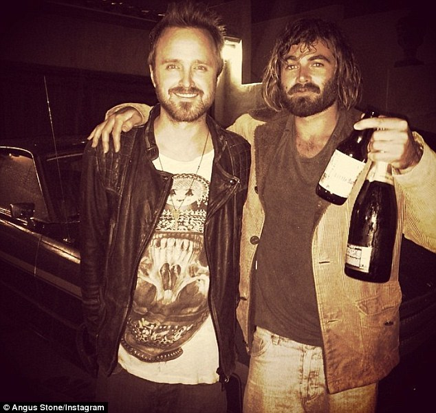Famous fans: They have gained a number of celebrity followers, including Breaking Bad's Aaron Paul