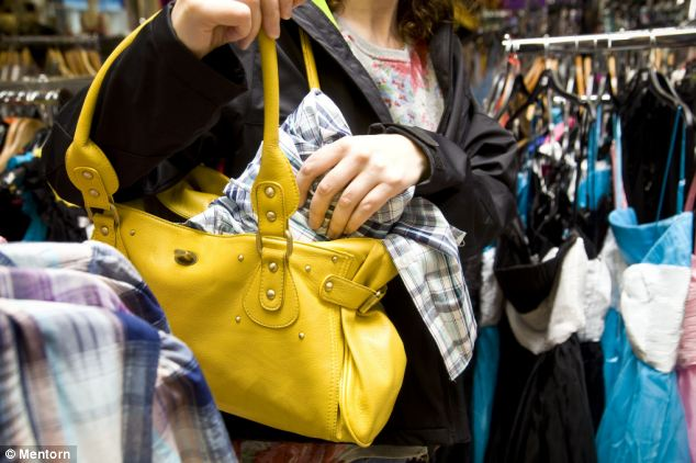 Trend: In North Wales instances of shoplifting have increased by 21.7 per cent compared with last year