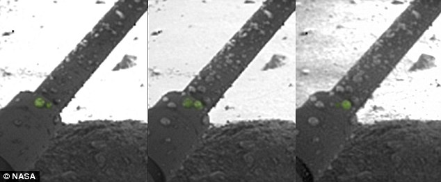 In 2008, Dr Renno was the first to notice strange globules in photos Nasa's Phoenix lander sent back from Mars. Over several weeks, the globules seemed to grow and coalesce. He deemed them water and suggested that salts on the planet's surface might make it so, which has now been confirmed