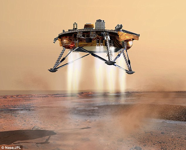 Nasa's stationary Phoenix lander touched down on the surface of Mars on 25 May 2008. It was the first successful landing in a Martian polar region and remained operational until November 2008, during which time it dug into the ground to research the history of water on Mars