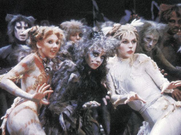 Performance: Bonnie Langford, Elaine Paige and Finola Hughes in the original West End show