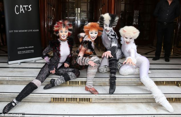 Making memories: Record-breaking musical Cats is to get a modern makeover complete with a rapping 'street cat' when it returns to the West End later this year