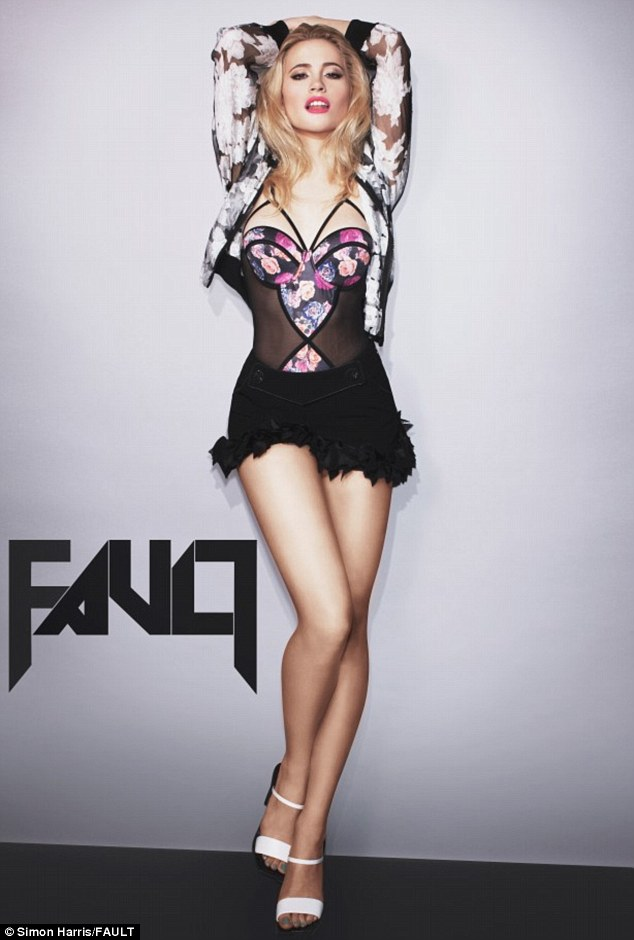 Plenty to talk about: Pixie Lott is on the verge of releasing her new, self-titled third album
