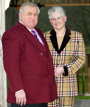 Landlords: Fergus and Judith Wilson amassed a huge buy-to-let portfolio