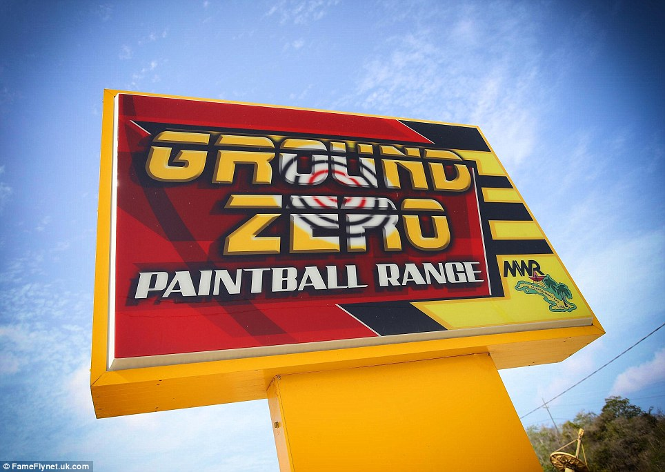 Entertainment: Off-duty military can relax at the Ground Zero paintball range in Guantanamo Bay on the eastern tip of Cuba