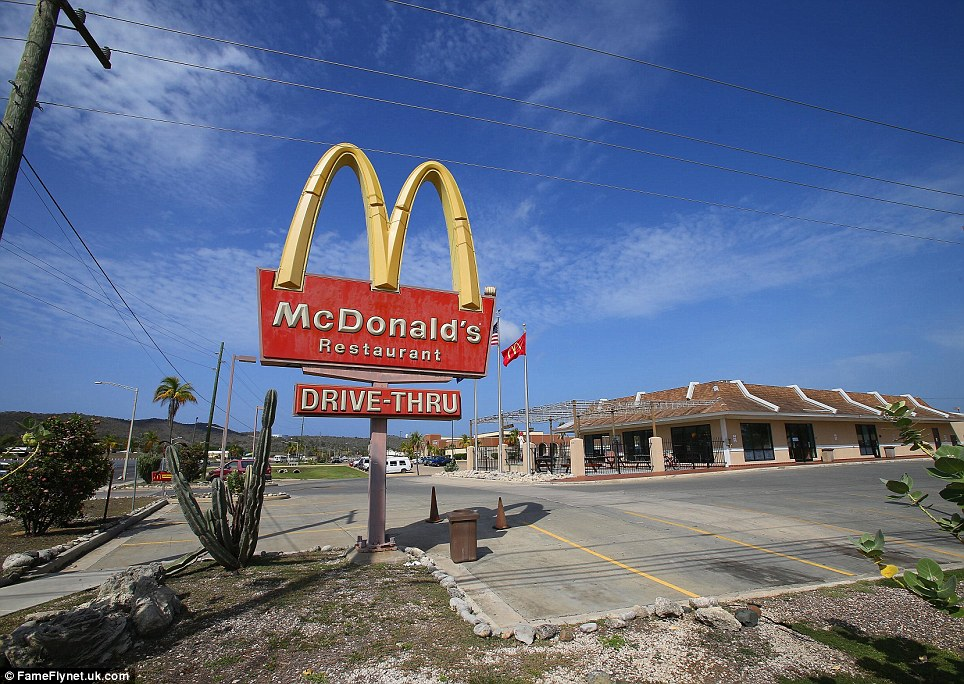 The only McDonalds in Cuba: Personnel on the base have all the benefits of small-town America