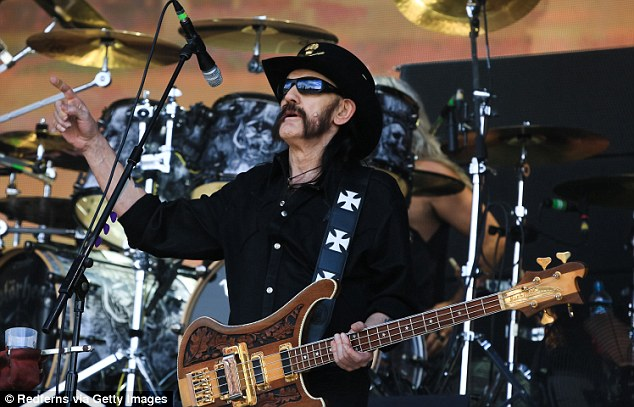 Lemmy Kilmister of Motorhead performs on stage on Day 2 of British Summer Time Festival at Hyde Park