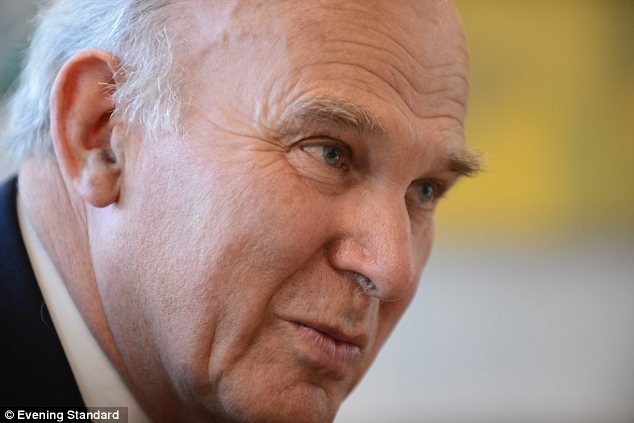 Investigation: Vince Cable has ordered Lord Myners to lead a review after ministers were accused of selling the Royal Mail on the cheap