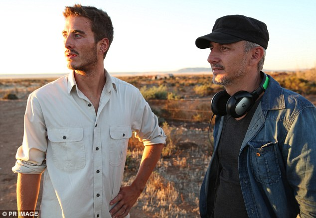 The Logie nominee with Wolf Creek 2 director Greg McLean