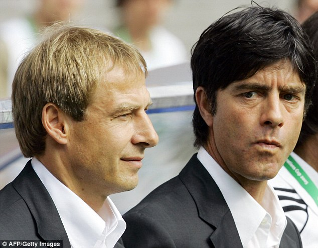 Mentor: Low was Jurgen Klinsmann's assistant for two years between 2004 and 2006