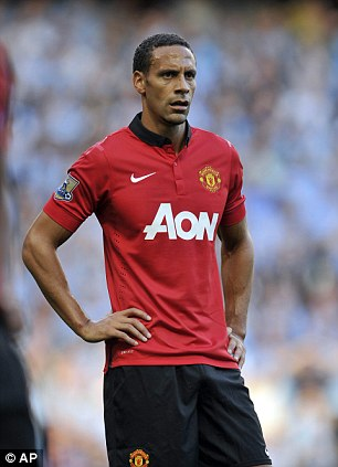 Departure: Ferdinand left United after 12 years