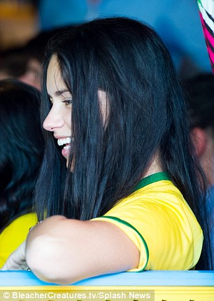 Thrilling! Adriana was a mixed bag of emotions as she cheered on the host nation of this year's World Cup