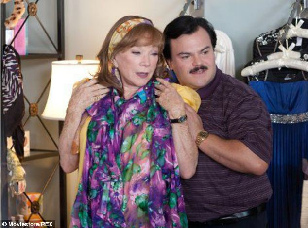 On screen: Linklater directed the film version of the story starring Jack Black and Shirley MacLaine