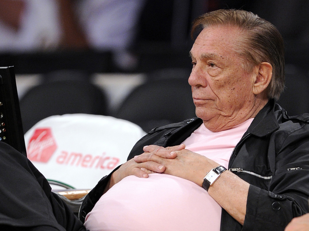Angry: Donald Sterling, pictured in 2010, gave testy, bombastic testimony Tuesday as he challenged the sale of his Los Angeles Clippers