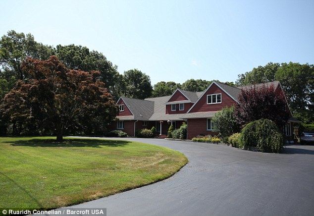 Outside, the house looks like an ordinary family home similar to thousands of others on Long Island