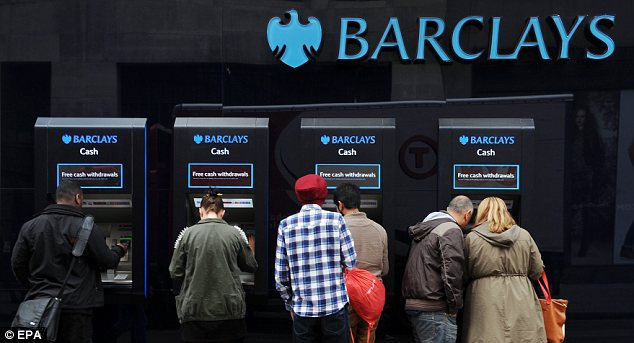 Rise of the machines: More customers will have to use machines to conduct their everyday banking tasks.