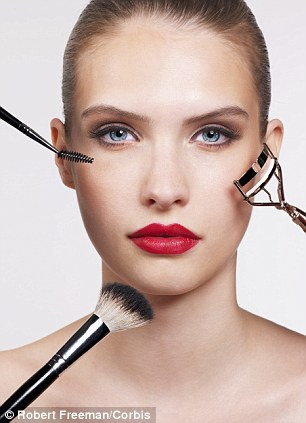Expensive habit: The costs of beauty products and toiletries soon piles up