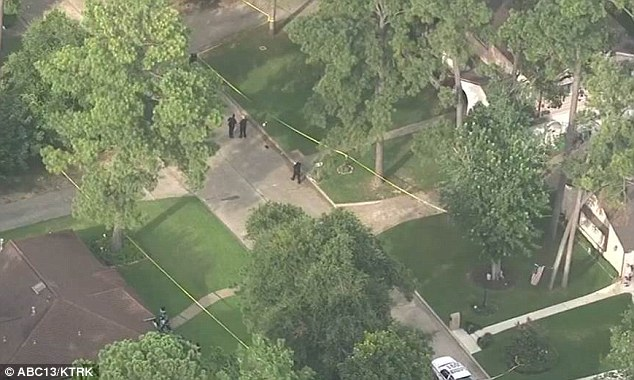 Family member: Click Houston reports that a female victim with a gunshot wound to her head was able to tell law enforcement who the shooter was, though this has not been made public other than that it was a family member