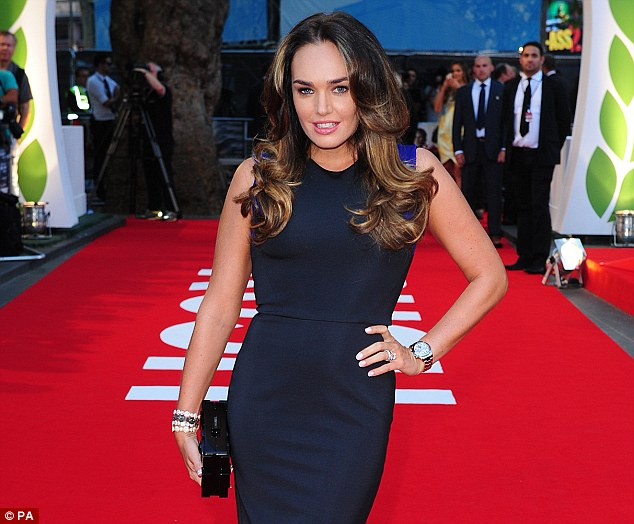 Delighted: Formula 1 heiress Tamara Ecclestone made a profit of £14,250 after betting £15,000 on Germany going through at 19/20
