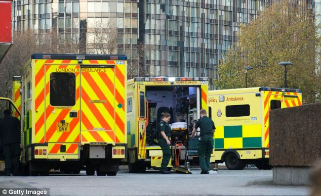 The number of out of hours cases seen by GPs has plummeted from 8.6million in 2007-08 to 5.8million last year, with patients heading to A&E departments instead, increasing their workload