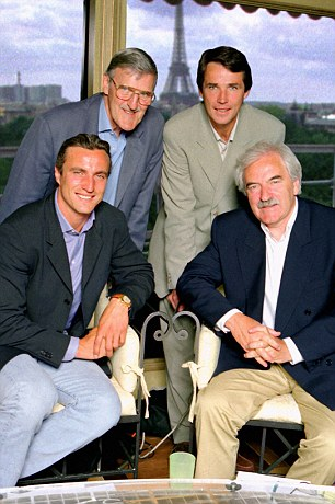 Paris Match of the Day: David Ginola, Jimmy Hill, Hansen and Des Lynam at World Cup 98 in France