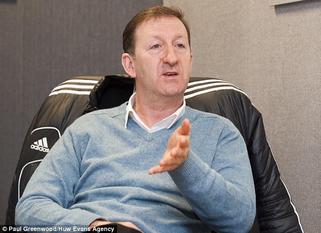 Hitting out: Swansea chairman Huw Jenkins is unhappy with Liverpool's actions
