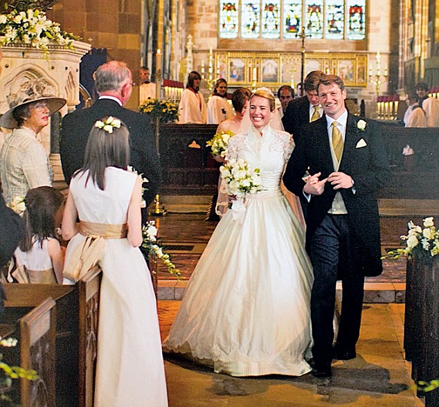 Emma and Justyn on their wedding day in May 2007. Justyn now attends Gamblers Anonymous meetings weekly and is working again