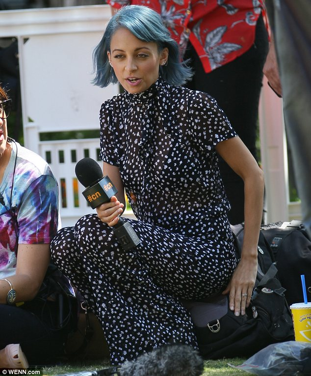Documenting her outrageous antics: Candidly Nicole will follow the star as she juggles motherhood and running a label, all while keeping a great sense of humour about her